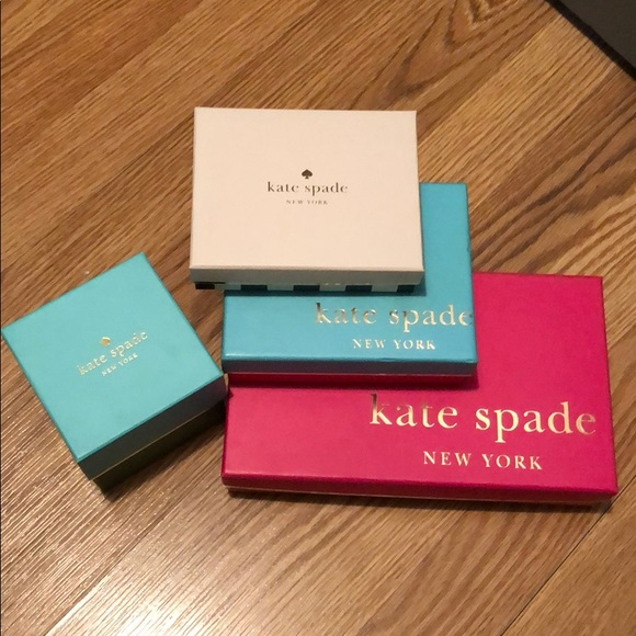 Kate spade gift boxes (empty)